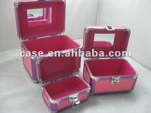 2012 hot Aluminum cosmetic case