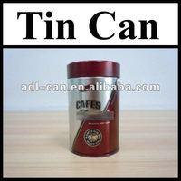Coffee Powder Empty Tin Cans Pass SGS FDA can air freshener