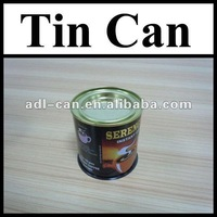 Coffee Powder Empty Tin Cans Pass SGS FDA hot can coffee