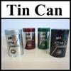 Coffee Powder Empty Tin Cans Pass SGS FDA tin food can