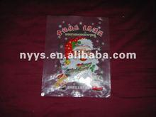Happy christmas plastic LDPE bag