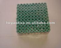 CE certified vacuum blood collection sodium/lithium heparin tube