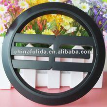 custom black car emblem