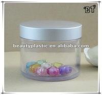 8OZ clear Vitamin E container