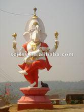 FRP larger fiberglass ganesh buddha sculpture