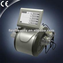 2012 multi-funtional cavitation+tripolar Rf +vacuum slimming machine