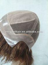 Hidden knots 6 inch silk top full lace wig for men