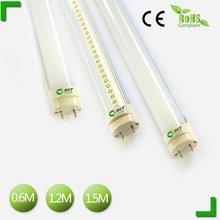 2012 hot led tube school popular use 2ft,4ft,5ft t8 led fluorescent tube