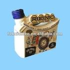 Unique Special Design Ceramic Hand-printed Rum Bottle