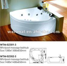 2012 hot sale cheap perfect elegant latest design whirlpool massage bathtub WTM-02301