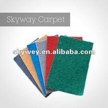Super colorful anti-slip carpet underlay for exhibition