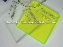perspex/pmma fluorescent cast board