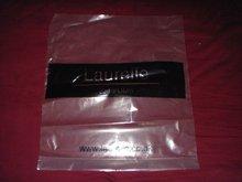 self adhesive seal and transparent printed ldpe plastic bag