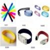 different shape wristband pendrive 2gb,bracelet shape usb flash memory 4gb,watch shape flash memory usb 8gb