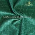 100% de poliéster hermoso en relieve corto tejido de felpa de juguete de tela