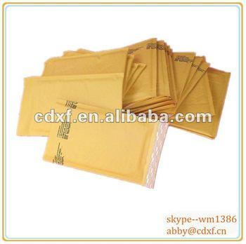 peal & seal glue 100g brown color kraft paper envelope