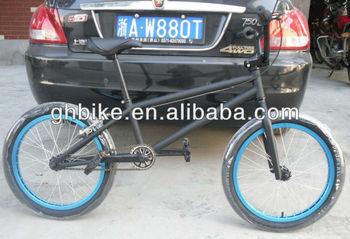20 black CR-MO Steel light street freestyle BMX bike