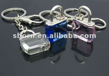 New Promotional 3D Acrylic Bag Keychains 2012