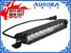 aurora 10inch 5w single row 4x4 light bar, atv light, off road 10w,motorcycle light,suzuki atv, accessories led 4wd bar