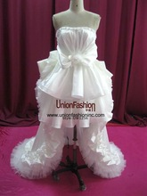black and white taffeta wedding dresses 2012