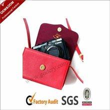 Red medium shoulder digital camera bag for girls