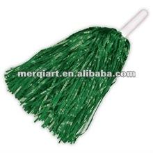 2013 new year dark green Cheerleading pom poms