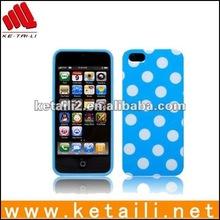 New Fashion Polka Dot Designer Hard Case back Cover for Apple iPhone 5