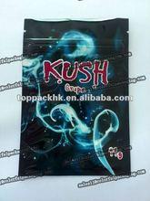 KUSH herbal incense bag (grape) 2.5g 11g//mini aluminum foil ziplock packing bag for plant seed/Mini foil resealable bag
