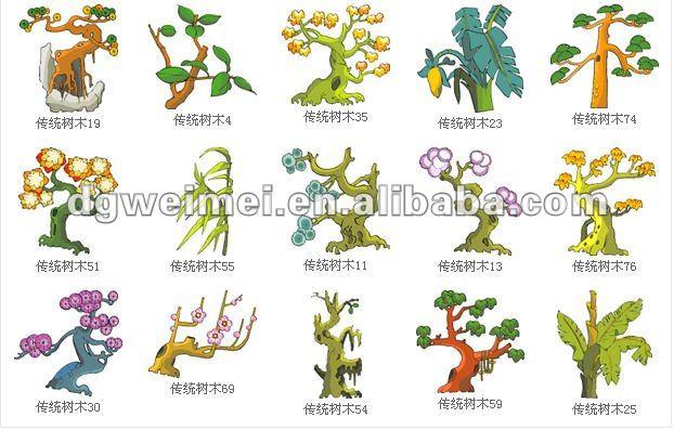 Nombre de tipos de arboles imagui for Nombres de arboles en ingles