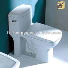 CUPC white elongated ceramic toilet bowl