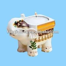 nuova casa display e ornamento unico elefante supporto di candela