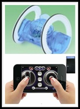 Iphone/ipad/ipod remote control R.C running wheel with sound music(303)