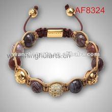 2012 lastest colorful charm bracelet faith love hope bracelet promotional gift