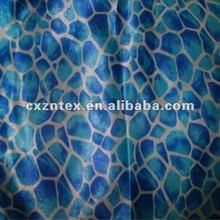 Sex leopard print satin textile