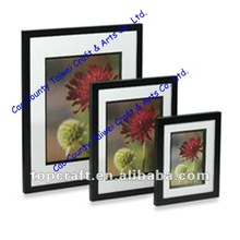 Wood Wooden Photo Picture Frames Stand or Hang Square Sizes Frame