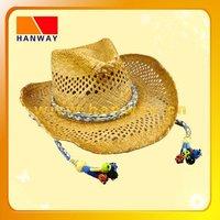 hot design wholesale straw cowboy hat