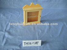hanging wooden key box