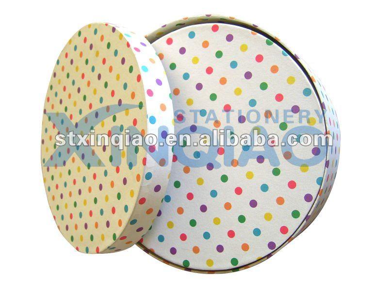 Personnalisé boîte de papier / ronde Carton boîte / boîte de Carton