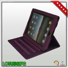 Nice Quality folio Book Leather Case for Ipad mini