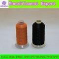 Poliéster elástico/monofilamento de nylon de hilo de coser