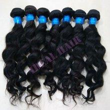 new arrival hot sale virgin brazlian wavy hair weave sell at rock bottom price