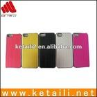 Luxury Brushed Metal Aluminum Chrome Hard Case For iPhone 5