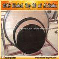 siyah ve kahverengi Granit küçük yuvarlak masa