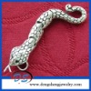 New Style Movable Snake Spit Tongue Silver Plated Pendant