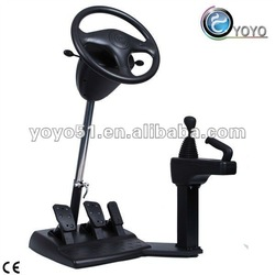 New Tool to Play Driving Simulator Games for Fun and Learning