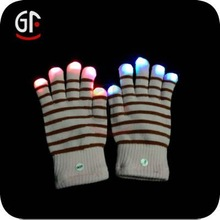 2015 Party Decoration Led Lighting Glowing Gloves