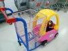Best Design Supermarket Kids&Children New PP Plastic Shopping Trolley Cart from Suzhou China