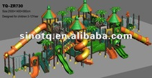 2015 Hot sales Lovely design Big Outdoor Playgrounds Equipment, Forest series