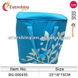 blue tree print 24 cans men&women cute tote cooler bag