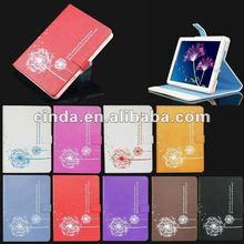 Dandelion PU Leather cover Case For Ipad mini
